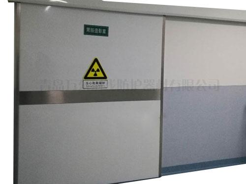 电动平移防护门